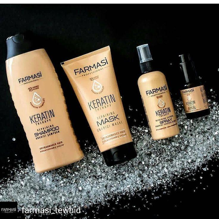 ✅✅✅ Yeni keratin serimizi denediniz mi? Yanlış saç bakım ürünleri kullanımı,boya,fön ,stres,hava şartları vb gibi etkenlerle saçlar yapısındaki doğal keratinini kaybeder.Farmasinin doğal bitkisel keratin içeren PHYTOKERATİNE serisi saçları onarır,besler,güçlendirir doğal ışıltı ve sağlığına kavuşturur��kısa sürede gözle görülür sonuçlar elde edeceksiniz���� ��kimyasal içermez ☘☘ ��kapıda ödemeli ��üyelik için profildeki linki tıklayın ✅kendi ürünlerinizi indirimli alın,hediyeler kazanın ✅✅✅…