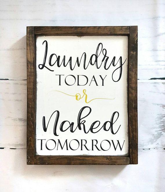 Laundry Room Signs Decor: Best 25+ Farmhouse Laundry Rooms Ideas On Pinterest