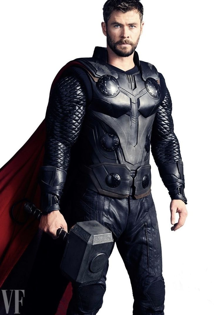 Chris Hemsworth as Thor in Avengers Infinity War.