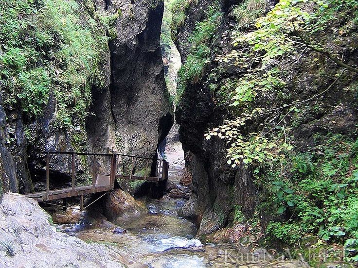 chodníky ve vrátné dolině