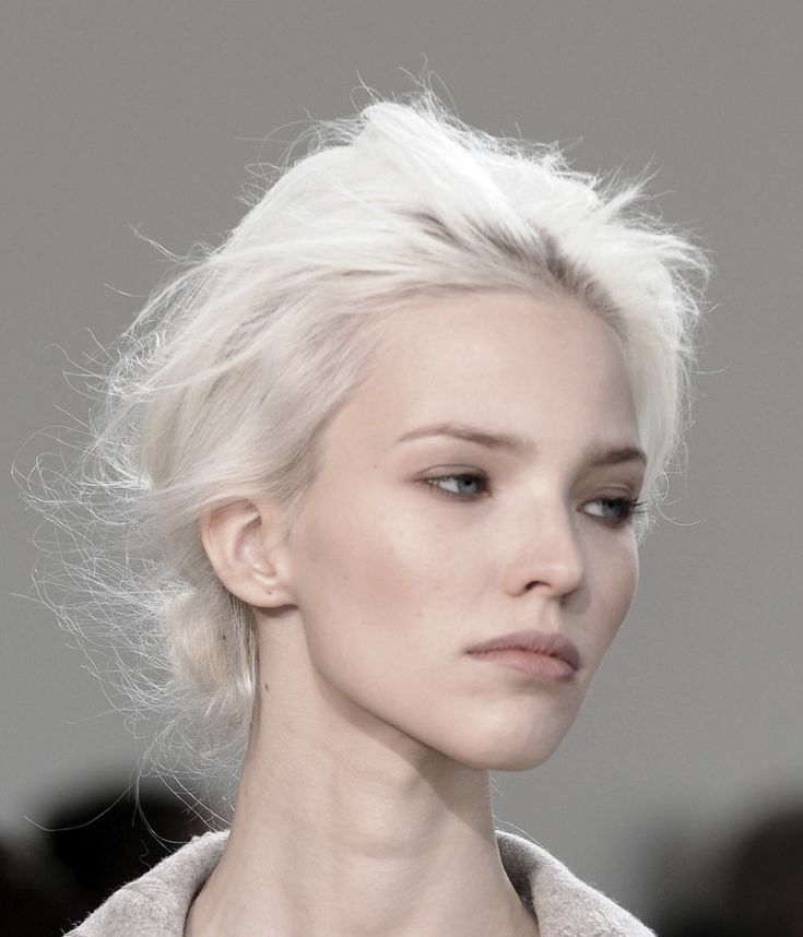white hair ideas