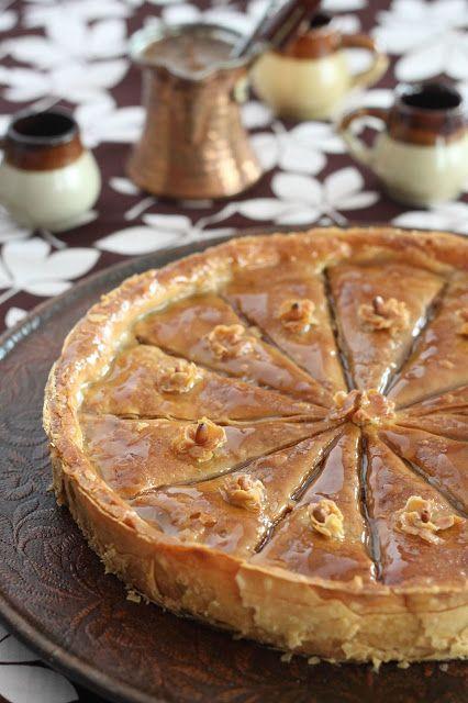 Délices d'Orient: Baklawa noix de pecan et sirop d'érable بقلاوة