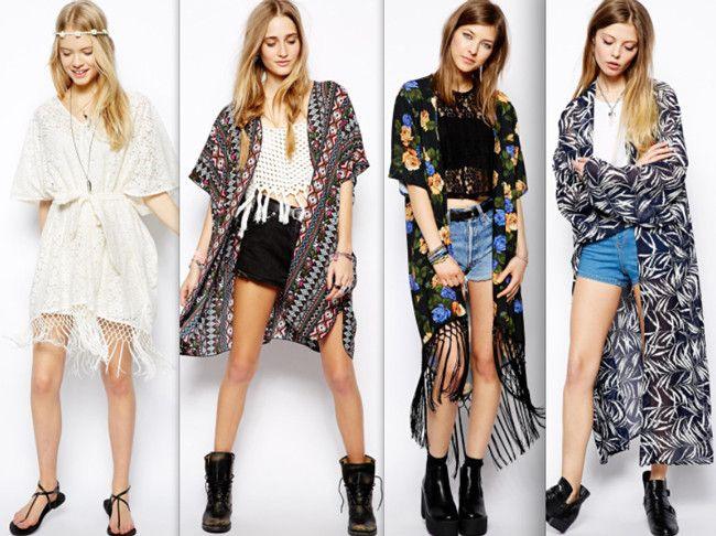 Resultado de imagem para kimonos moda