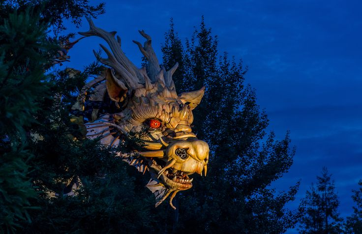 Long ma (a robot dragon) in Nantes.