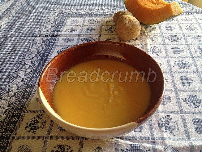 Crema di Zucca e Patate all'Arancia