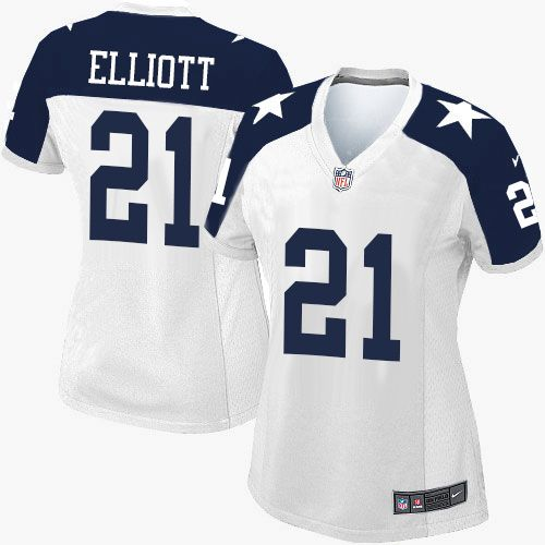 5c1657f26 ... White Thanksgiving Womens Stitched NFL Throwback Elite Jersey And  Jerseys SALES 2017 Nike Cowboys Ezekiel Elliott White Youth Stitched NFL  Super Bowl LI ...