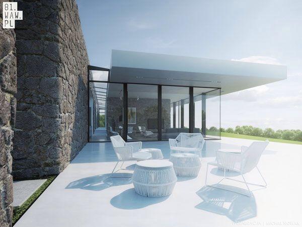 Minimalistisk havedesign