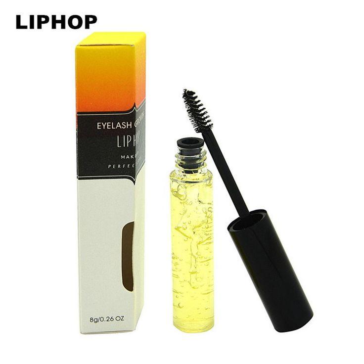 2015 chegada nova marca LIPHOP cílios soro de crescimento líquido maquiagem mais rápido Enhancer Eye Lash tratamentos Eyelashs mais grossos mais longos alishoppbrasil