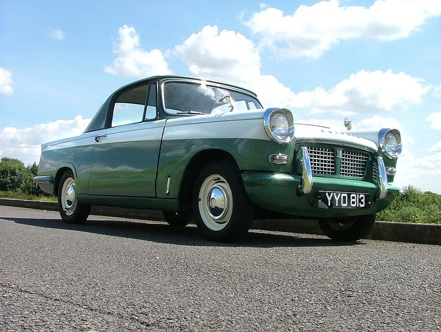 Triumph Herald Coupe....look at it shine!