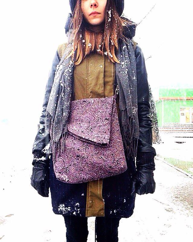 Bag fabric girl