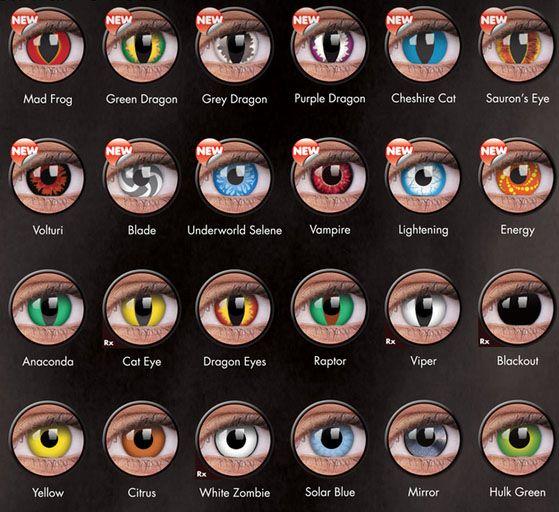 halloween lenses australia