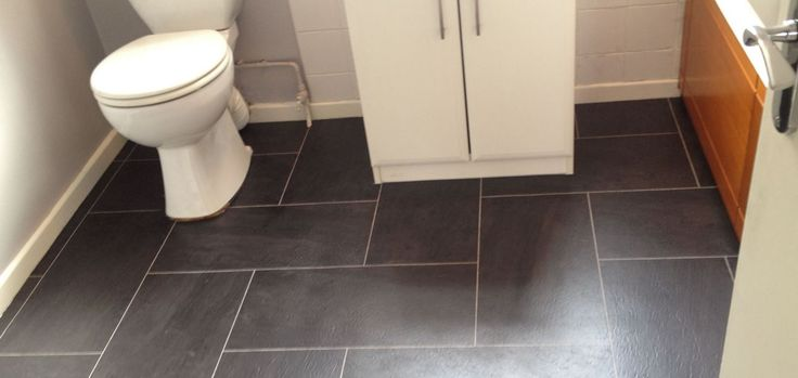 gray-slate-bathroom-floor-tile
