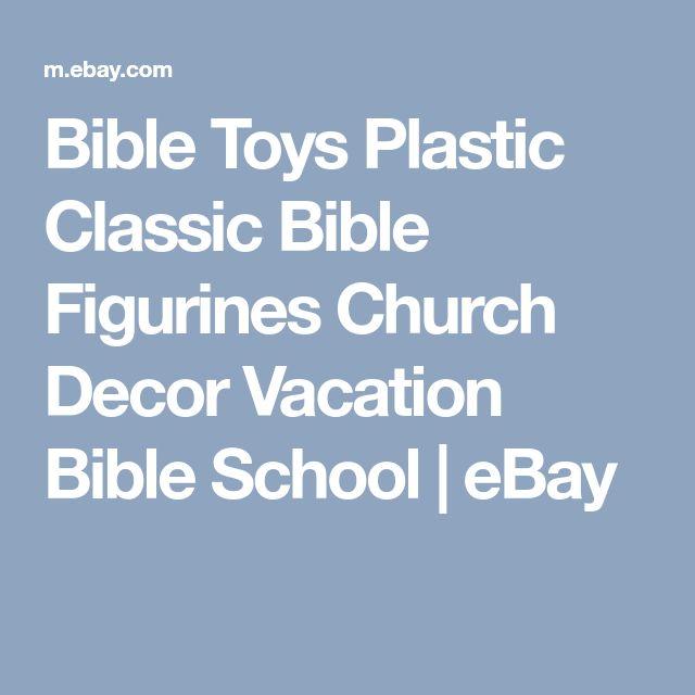 Bible Toys Plastic Classic Bible Figurines Church Decor Vacation Bible School   eBay