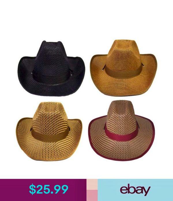 Cowboy CowBg31 Z Cowgirl Rodeo Western Hats  Wholesale 4Pc Lot