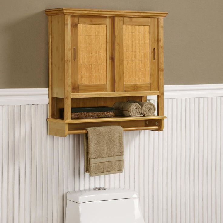 storage cabinet need more space to put bath items rustic unfinished wood wall bathroom cabinet with towel bar feature and bifold door