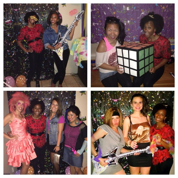 80s costume! 80s fashion! Flashdance, Gem and the holograms