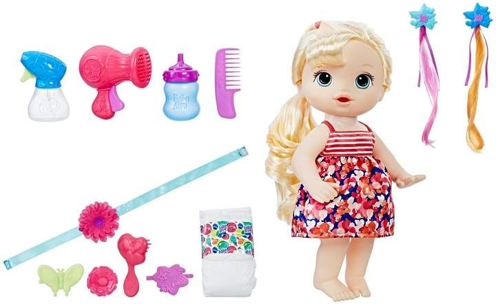 Baby Alive Blonde Cute Hairstyles Baby By Hasbro Baby Alive Baby Alive Dolls Toys For Little Kids