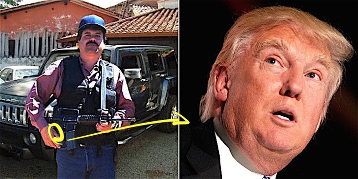 El Chapo really hates Donald Trump. How much does he hate Donald Trump? Well, he just put a big bounty on Donald Trump's head. El Chapo Junior has...