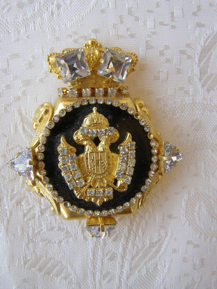 SALE!! Regency Russian brooch, vintage regency Russian brooch