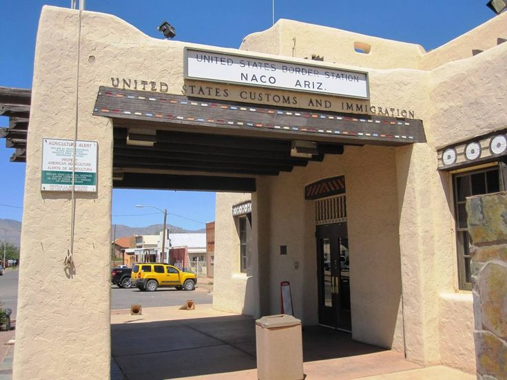 Entryway to Naco, Sonora, Mexico