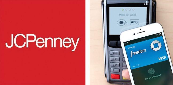 JCPenney Ahora Acepta que Apple Paga a nivel Nacional, se Integra Con Propia Tarjeta de Crédito y el Programa de Lealtad