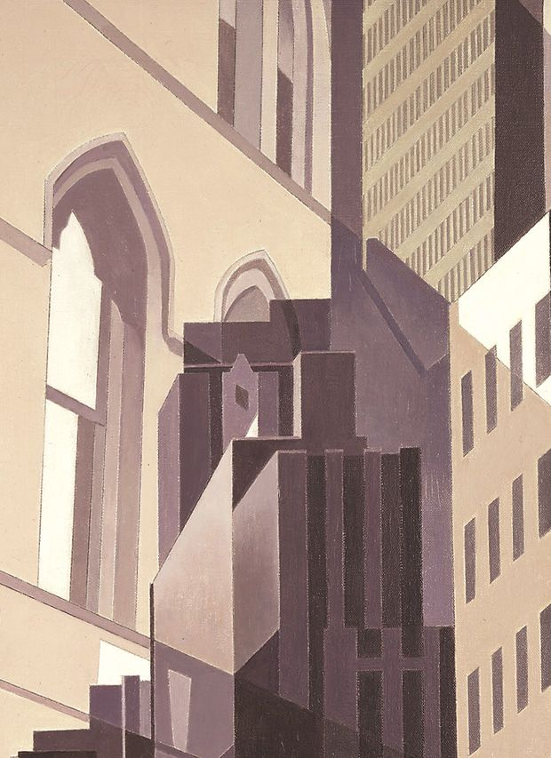 Charles Sheeler | Neighbors, 1951