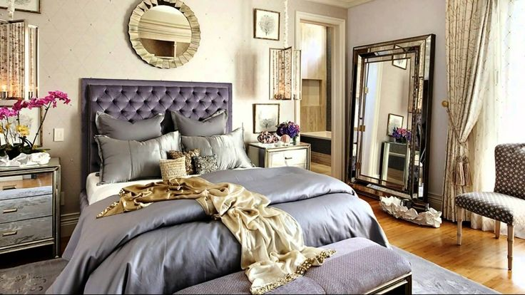 Hollywood Glamour Bedroom Ideas