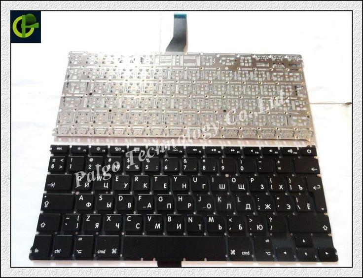 "Russian keyboard For MacBook Air 13"" A1369 A1466 MD231 MD232 MC503 MC504 2011 2012 2013 Year RU"