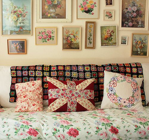 Trend Alert Dalmatian Print Home Decor: 25+ Best Ideas About Granny Chic Decor On Pinterest