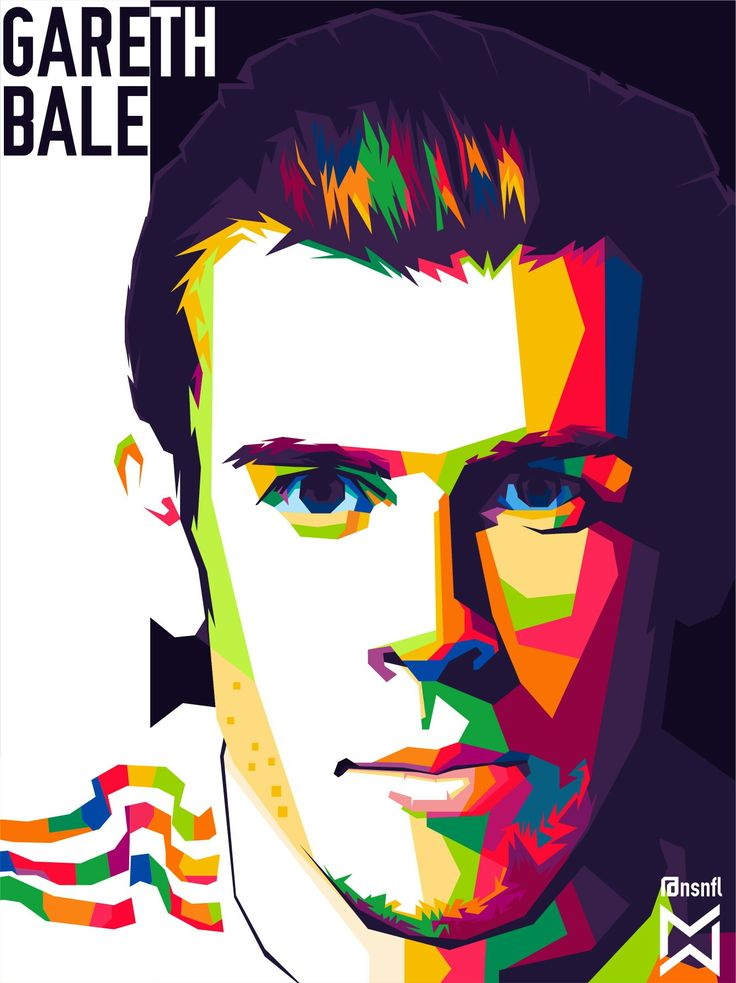 Bale in WPAP art of indonesia