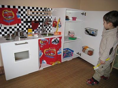 Ikea hackers mcqueen play kitchen perfect realistic Realistic play kitchen