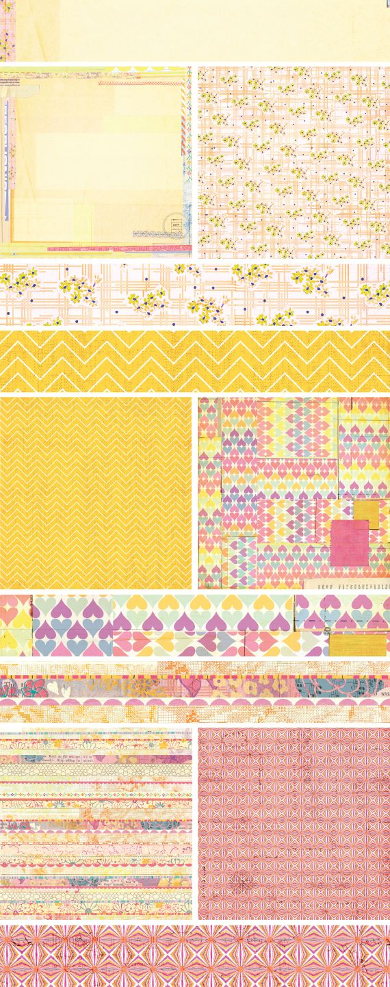 Scrapbook paper collections - Sharing A Cha Summer 2012 Sneak Peek From Basicgrey Called Soleil And The Embellishments From The Collection