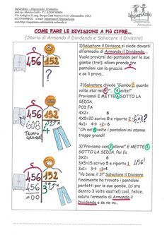 Come fare le divisioni a più cifre...