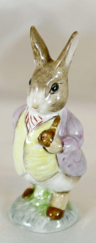 Beatrix Potter Beswick Mr. Benjamin Bunny 1965 by Ariamel on Etsy, $40.00