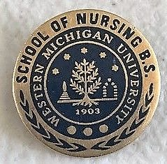 Western Michigan University BSN pin
