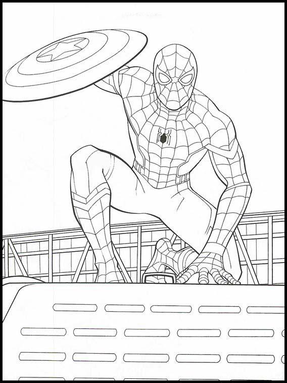 Si eres amante de los superheroes y los pequeños de casa también, cada superherpre de los personajes de marvel para colorear que iremos compartiendo en la web te va a encantar. Vengadores: Endgame 22 dibujos faciles para dibujar para