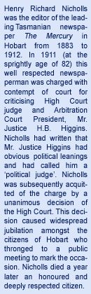 HR Nicholls Society Website Archives