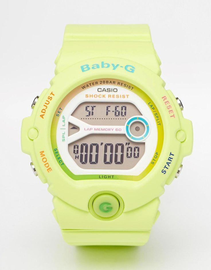 Casio Baby G Bright Green Digital Watch