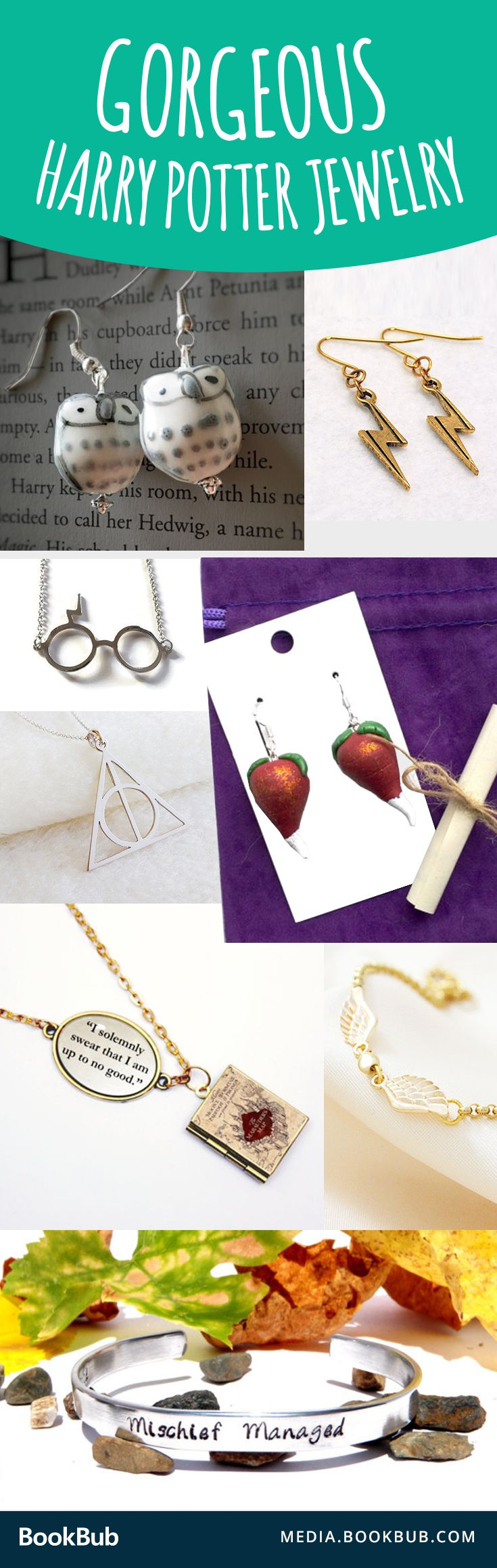 These would make creative Christmas gift ideas for a Harry Potter-loving best friend or girlfriend.