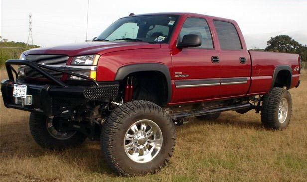 Big Chevy Trucks | We have the BIG 5.0 x.125 Aluminum Driveshafts for a Heavy Duty OE ...