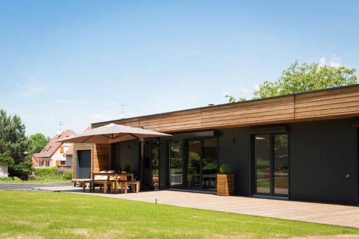 constructeur maison bois realisation maison ossature bois Maison