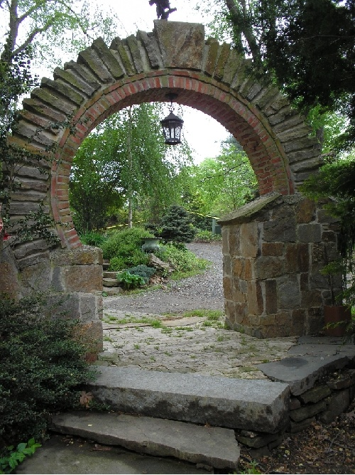 Stone Archway Garden Archway Garden Arches Stone Archway