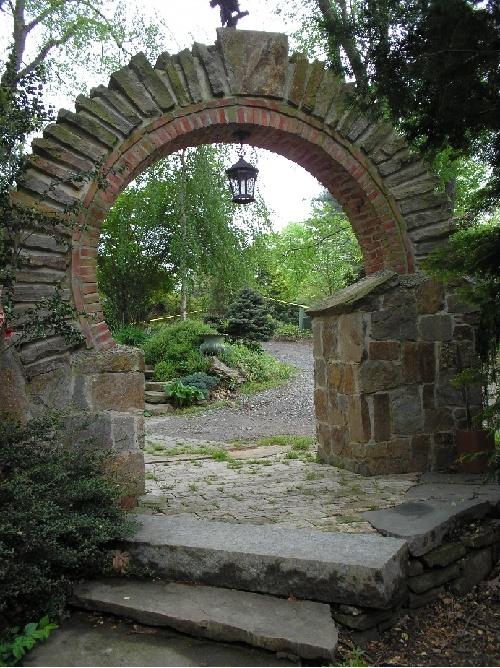 Stone archway!