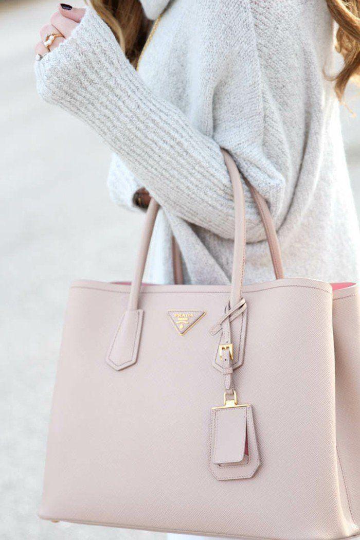 Tenue sac tendances sac bandouliere tendance Sac à main chic rose poudré