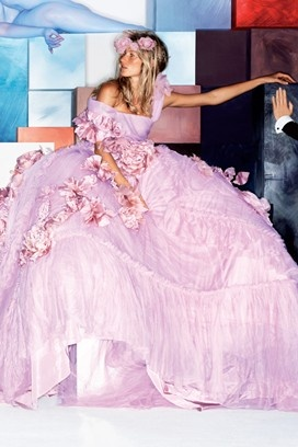 Obsessed with Gisele in pretty pretty princess pink!: Princesses Dresses, Victoria Secret Pink, Fashion Models, Victorias Secret Models, Christian Dior, Gisele Bundchen, Giselebundchen, Floral Dresses, Victoria Secret Models