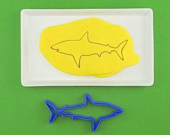 Reef shark cookie cutter - Emporte-pièce requin de récifs - Modifier la fiche - Etsy