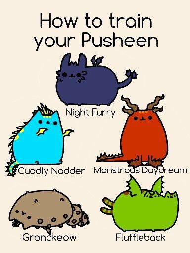 How to train your pusheen!