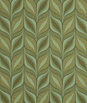Robert Allen Stylish Leaves Aloe Fabric