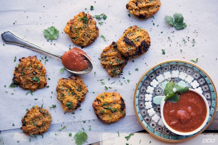 Lunch is sorted with our vegan, dairy-free sweet potato fritters recipe. Our delicious fritters are easy to make and 100% healthy - you're gonna love them!