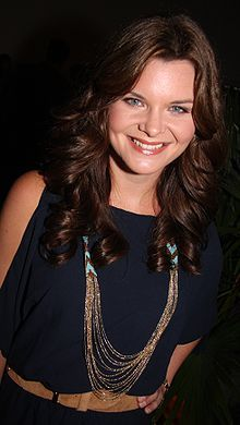 "Heather Marie Tom, known for her character role as Katie Logan-Spencer on the ""Bold and the Beautiful."" has been nominated for a 2014 Emmy.  She is also known as Victoria Newman on the Young and Restless, and Kelly Cramer on One Life to Live soap operas."